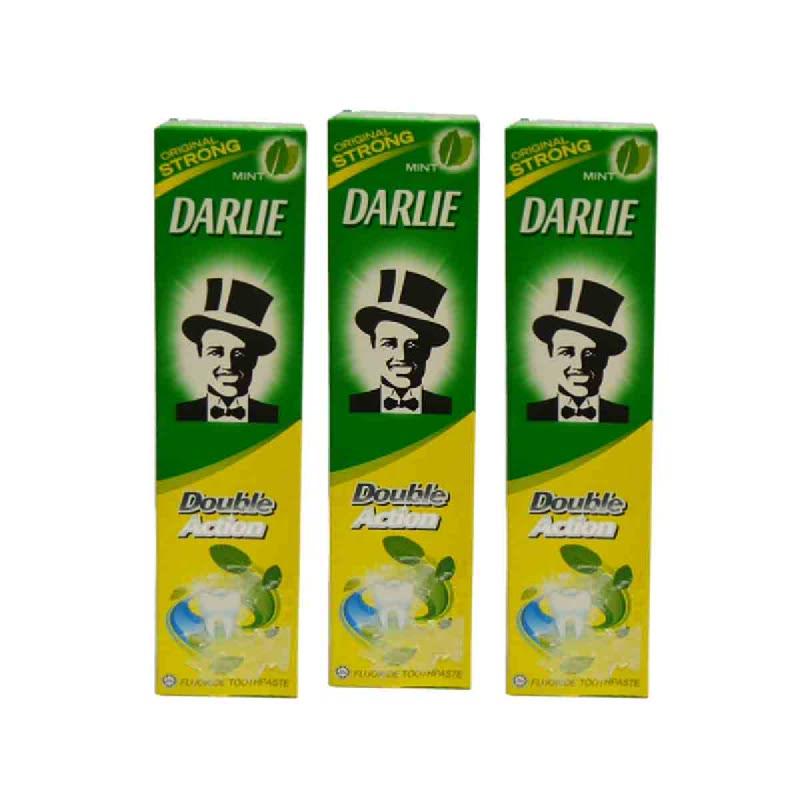 Darlie Pasta Gigi Double Action Mint 225 Gr (Buy 2 Get 1)