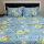Sleep Buddy Set Sprei dan bed cover Osaka Blue CVC 180x200x30