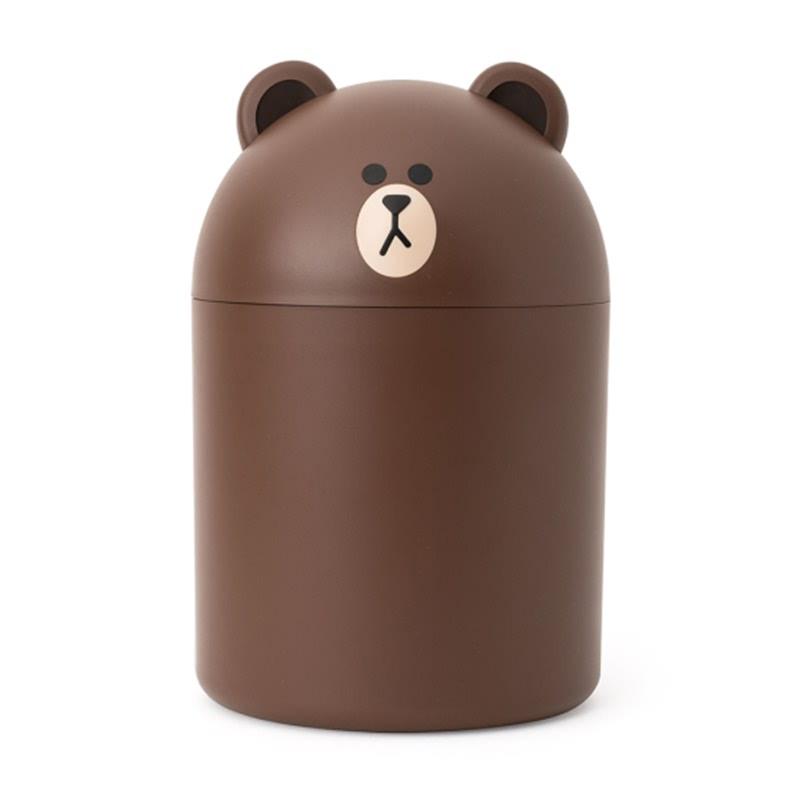 Brown Mini Bin (Trash Bin)