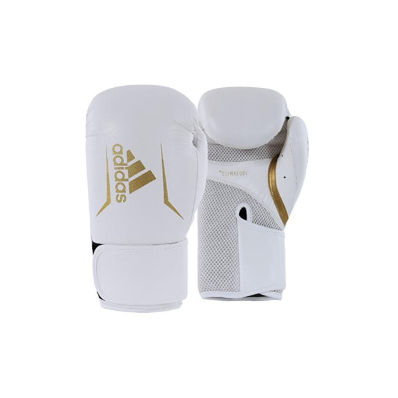 Adidas Combat Speed 100 Boxing Glove New White Gold