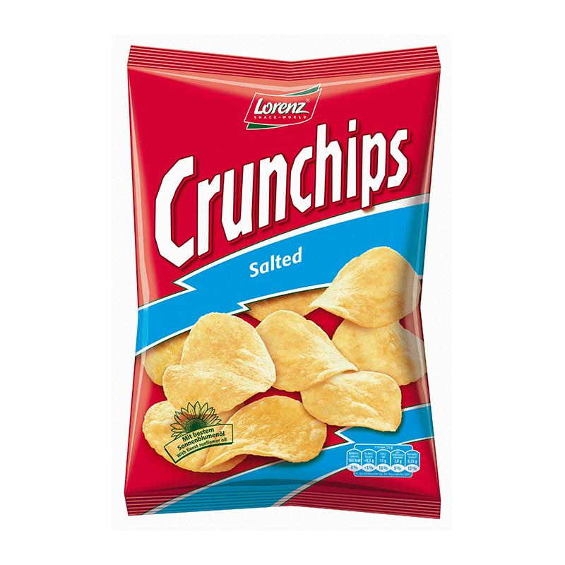Lorenz Crunchips Salted 100g
