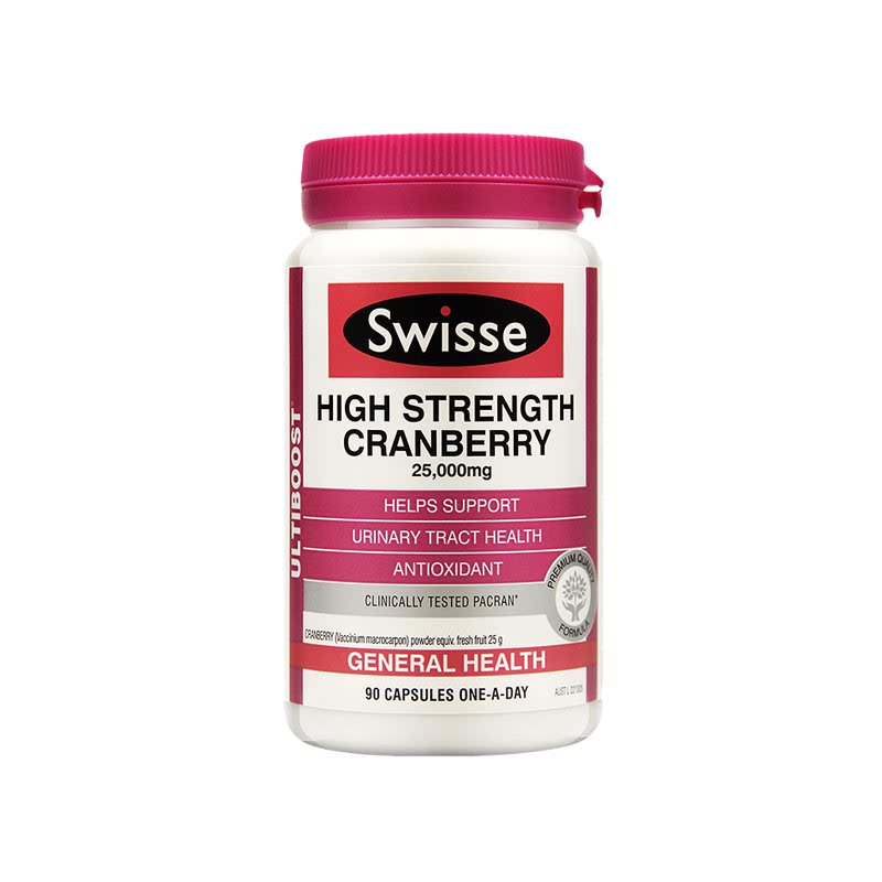 Swisse Ultiboost High Strength Cranberry 90 Caps
