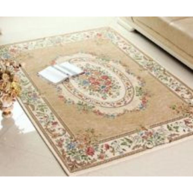 Vintage Story - Victoria Karpet Atau Keset Antislip Ruang Tamu 120x180 Cm - VP12 - Krem
