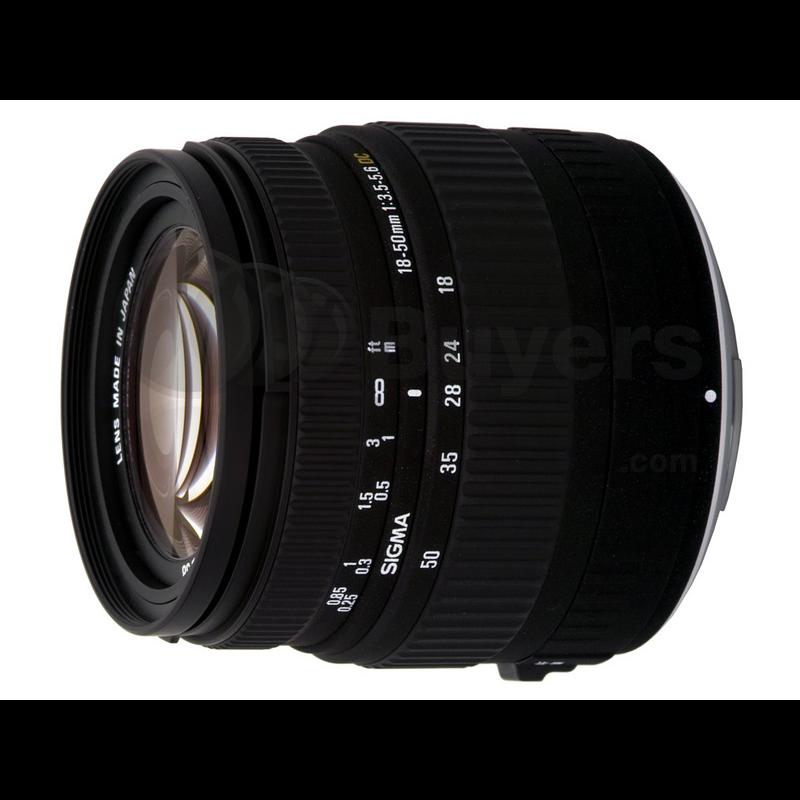 Sigma 18-50mm F3.5-5.6 DC PENTAX