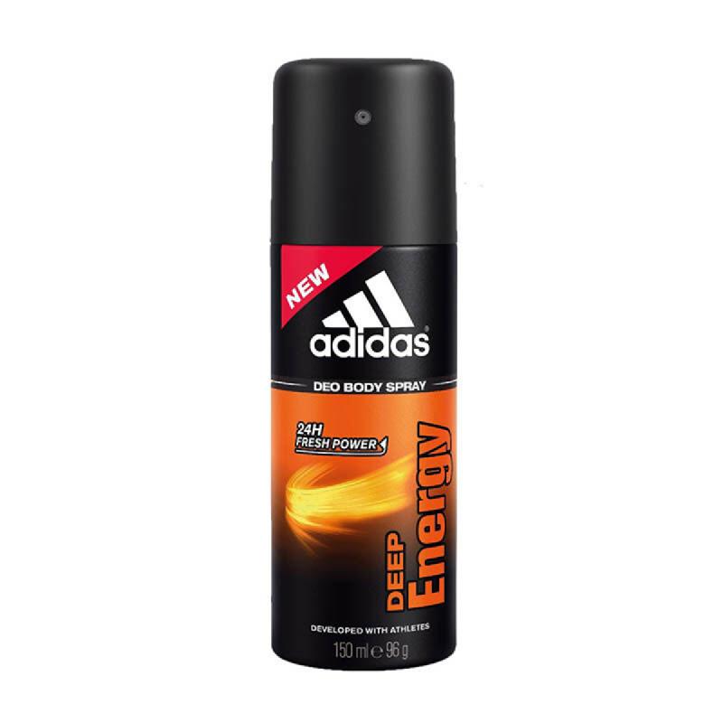 Adidas Men Deo Spray Deep Energy 150Ml