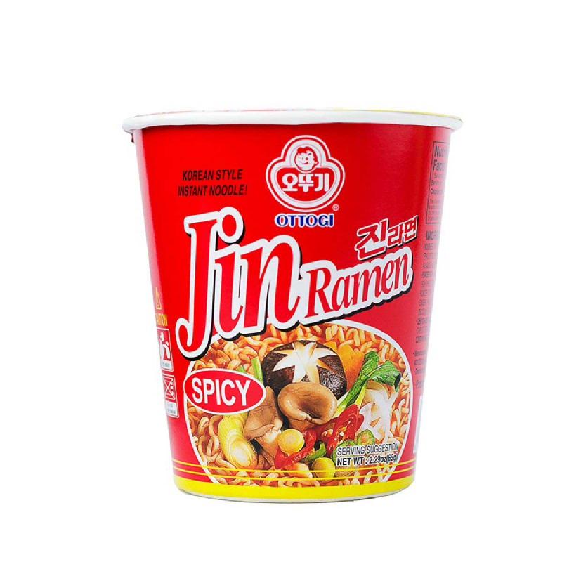 Ottogi Jin Ramen Hot Cup 65 Gr