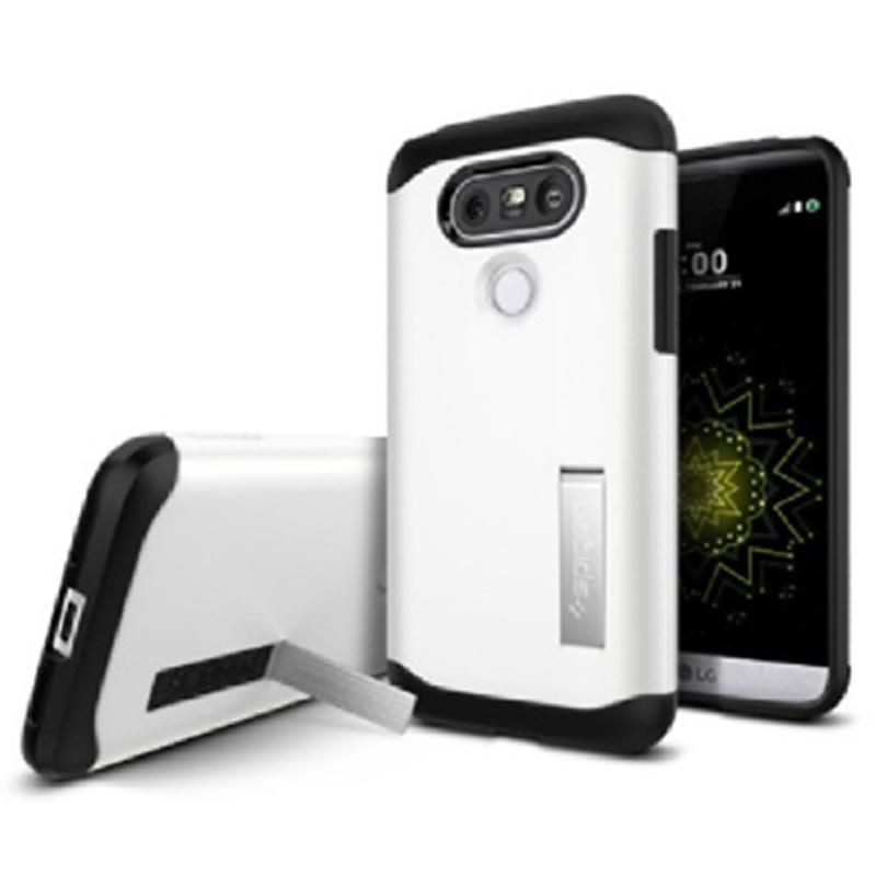 Spigen LG G5 Case Slim Armor - Shimmery White
