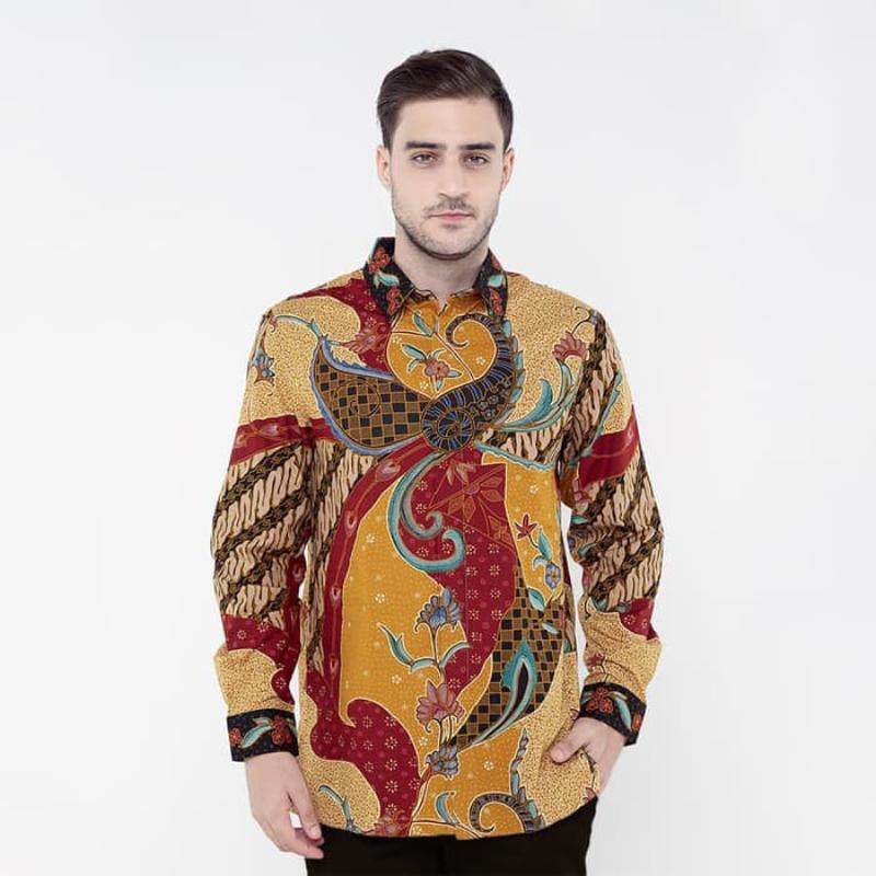 Asana Batik Long Sleeve LS10089GLD