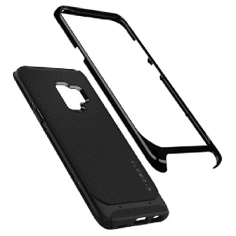 Spigen Galaxy S9 Case Neo Hybride - Shiny Black