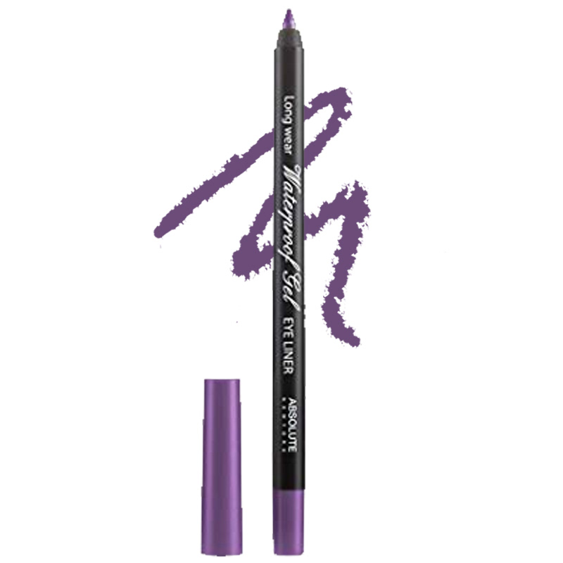 Absolute New York Long Wear Waterproof Gel Eye Liner Purple