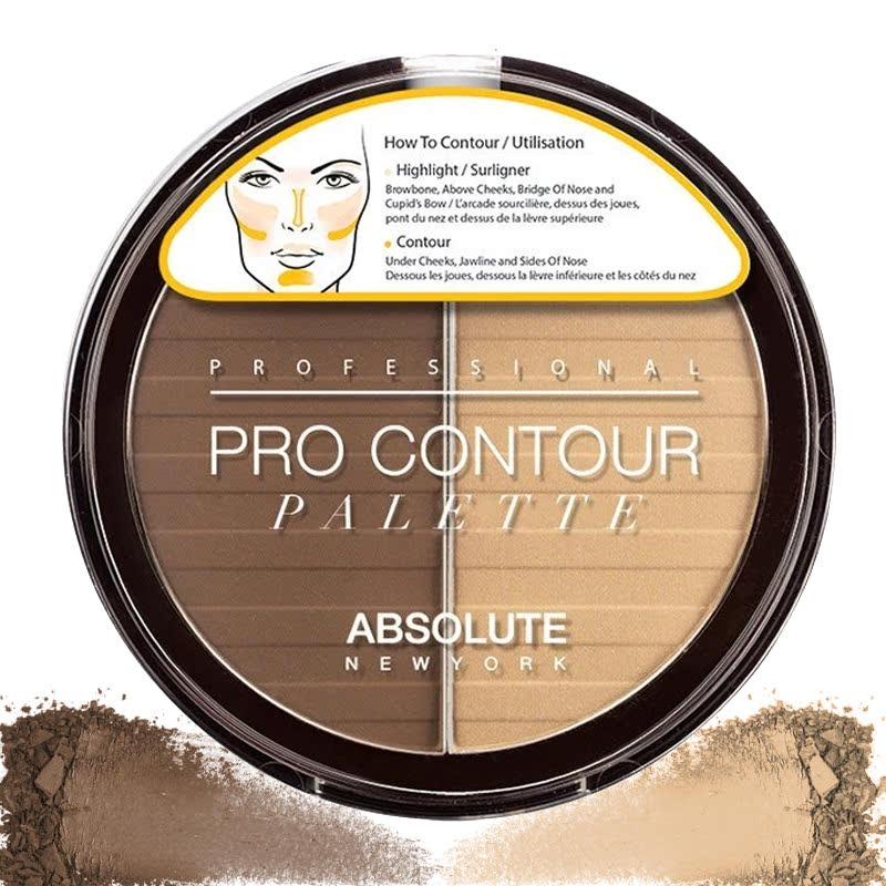 Absolute New York Pro Contour Palettes Medium