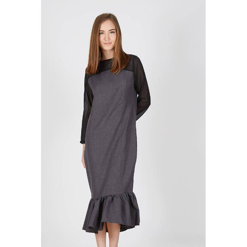 Glyn Dress Grey