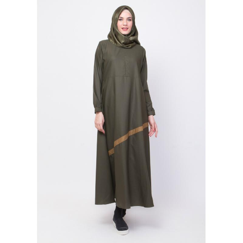 ALLEV Noor Dress HijauTua