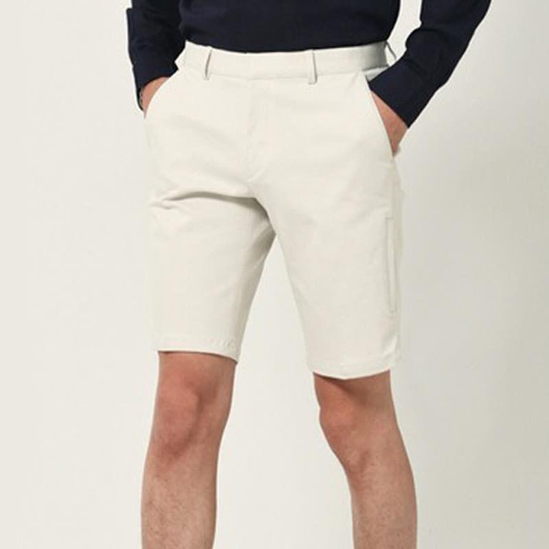 Noel Span Chino Short Pants - IVORY