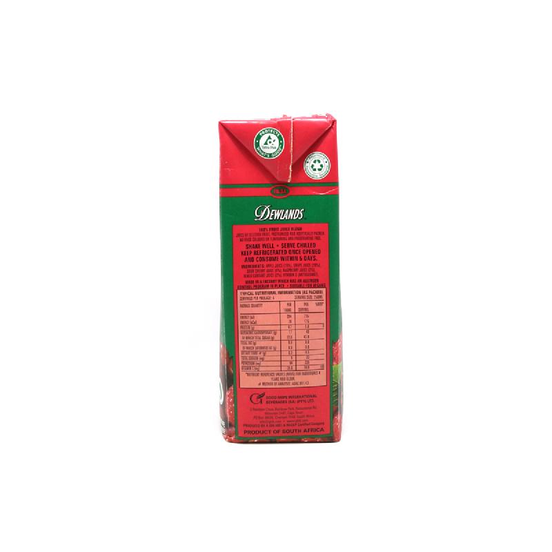 Dewlands Natural Juicered Mixed Berry Ju