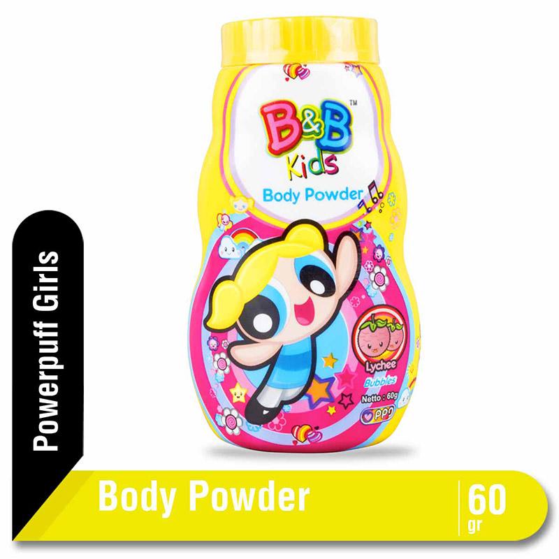 B&B Kids Body Powder Bubbles 60 G