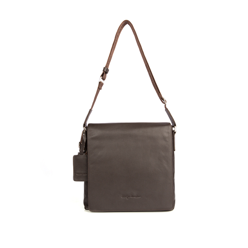 Phillipe Jourdan Messenger Bag Darwin Brown