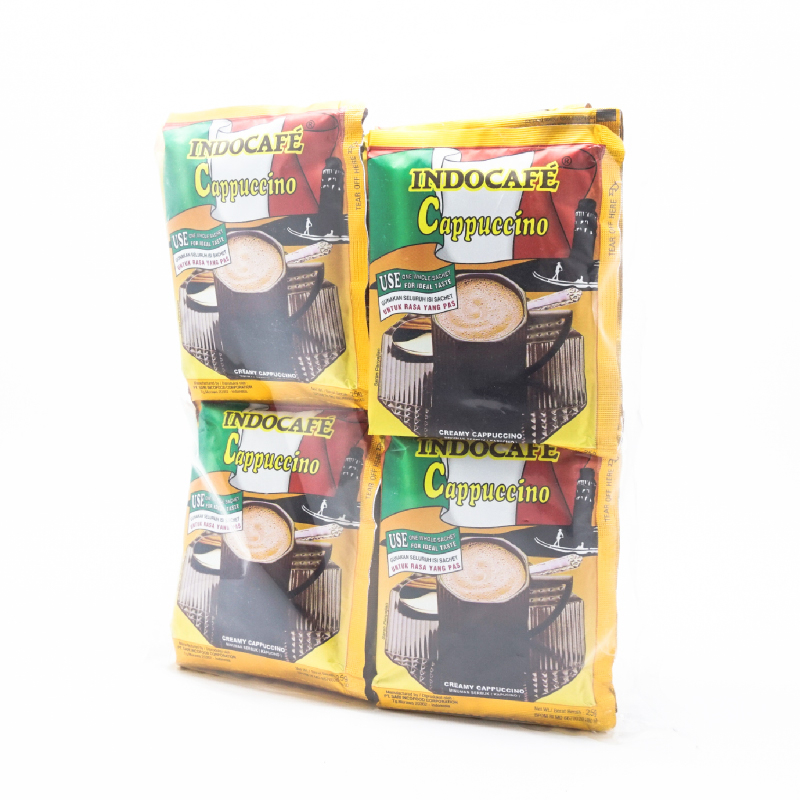 Indocafe Coffee Cappuccino 20 X 25 Gr