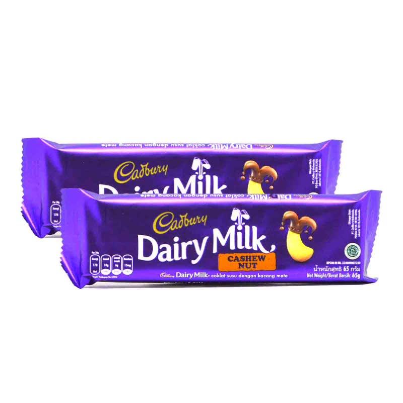 Cadbury Cashew Nut 65G (Buy 1 Get 1)