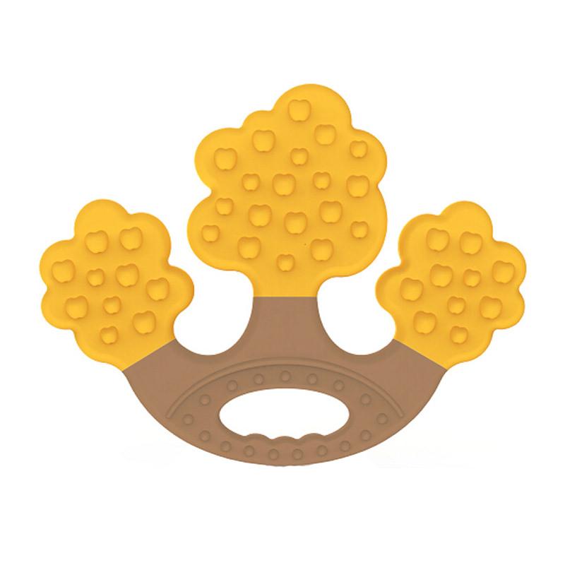 Apple Tree Teether Gigitan Bayi - Yellow