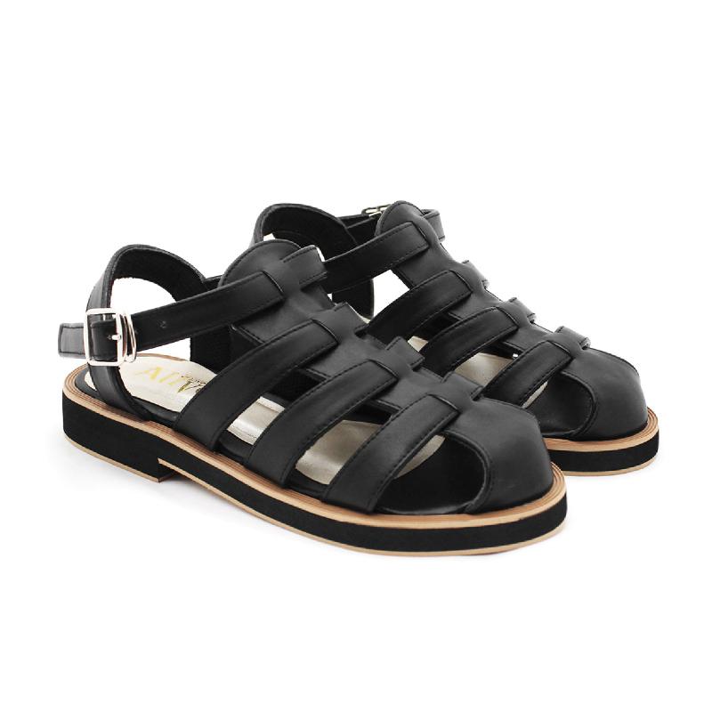 Alivelovearts Sandals Shizuka Black