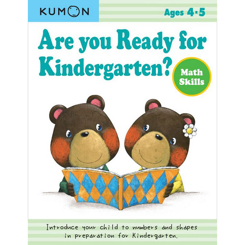 Kumon Are You Ready for Kindergarten Math Skills