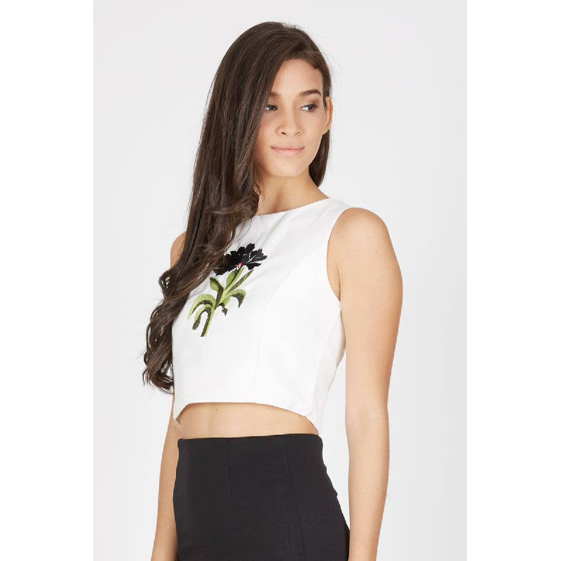 Francois Malchow Top in Black