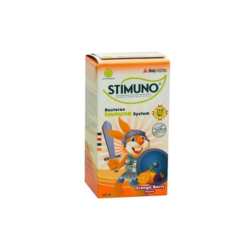 Stimuno Sirup Orange Berry 100 Ml