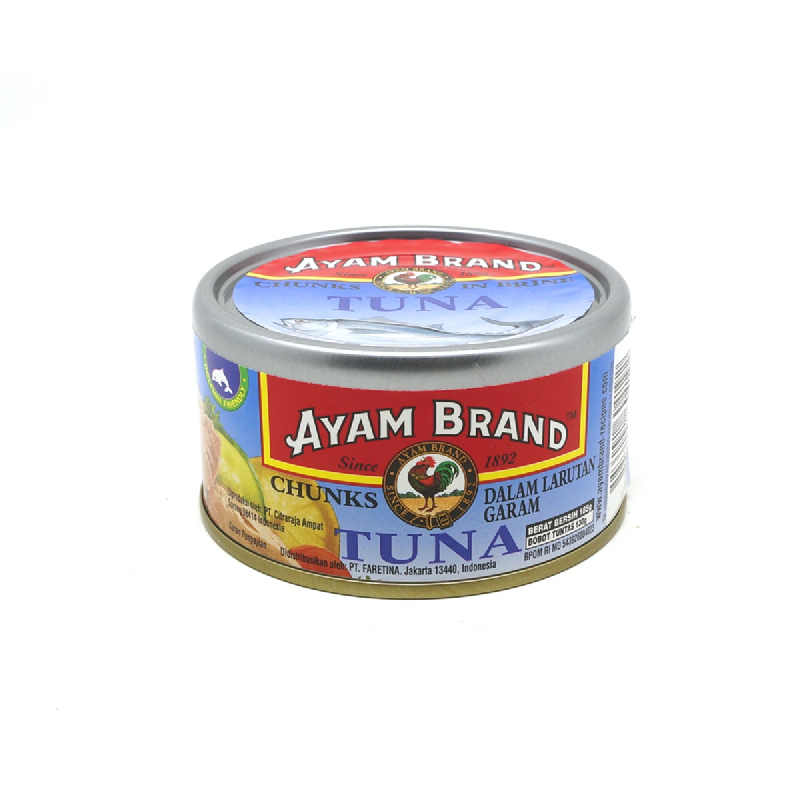 Ayam Brand Tuna Chunk In Water 185 Gram