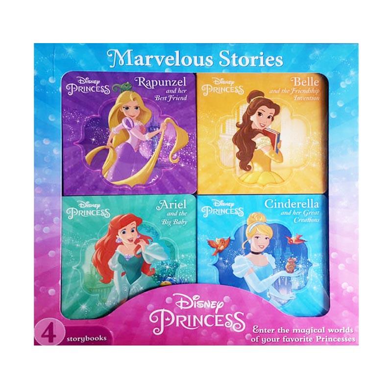 Disney Princess 4 Books Box Set