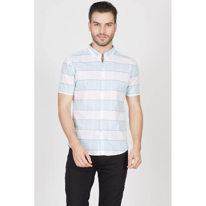 Men Dust Shirt Turquoise