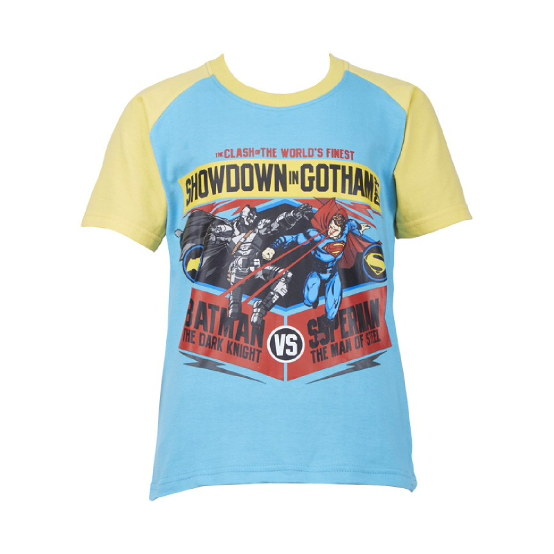 Batman vs Superman Showdown Gotham Short Sleeve T-Shirt
