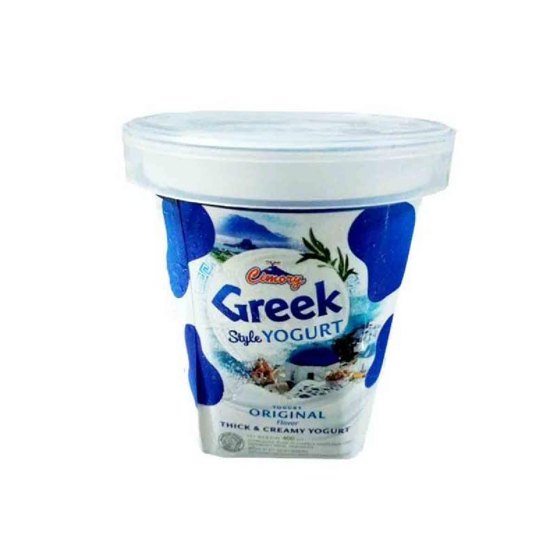 Cimory Set Yoghurt Plain 400Ml