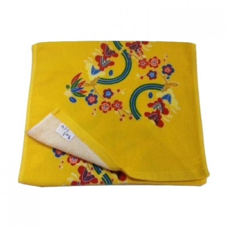 Yawaragi Chura Handuk Mandi Kecil - Kuning