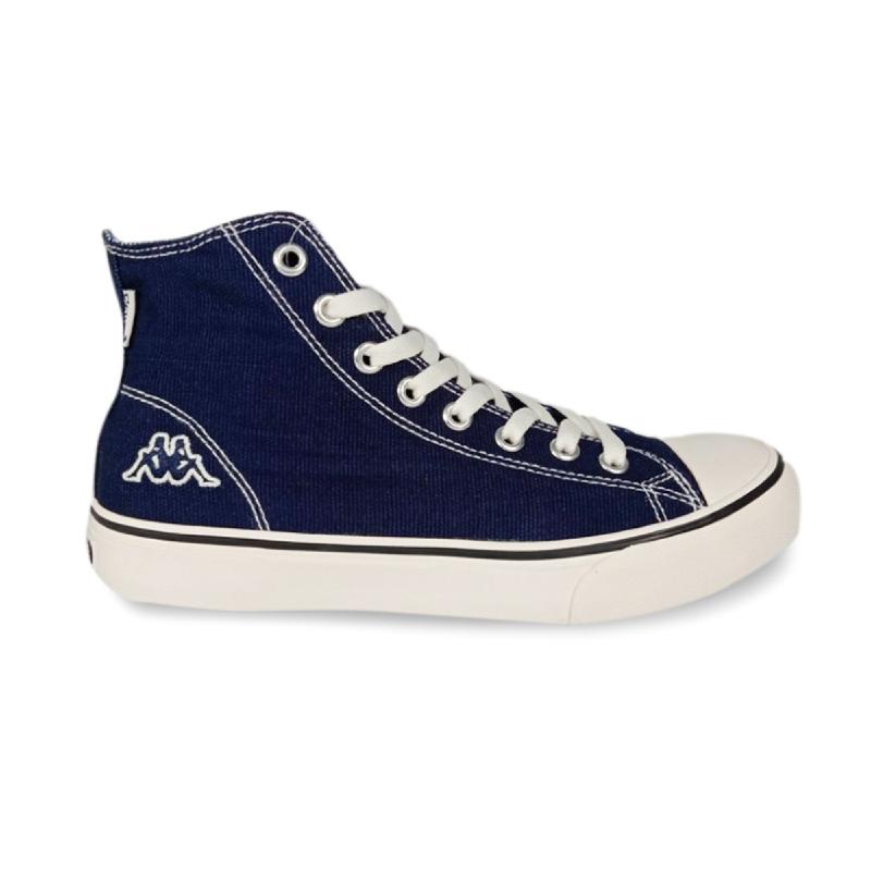 Kappa Orion Hi Cut Canvas Unisex Sneakers - Navy