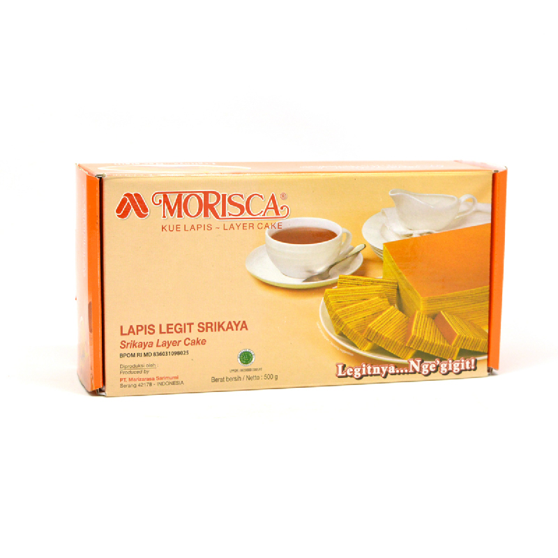 Morisca Lapis Legit Srikaya 500G
