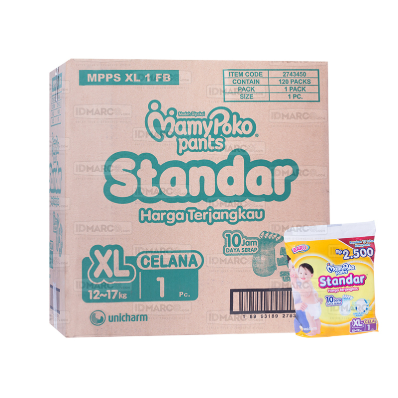 MamyPoko Pants Standar XL