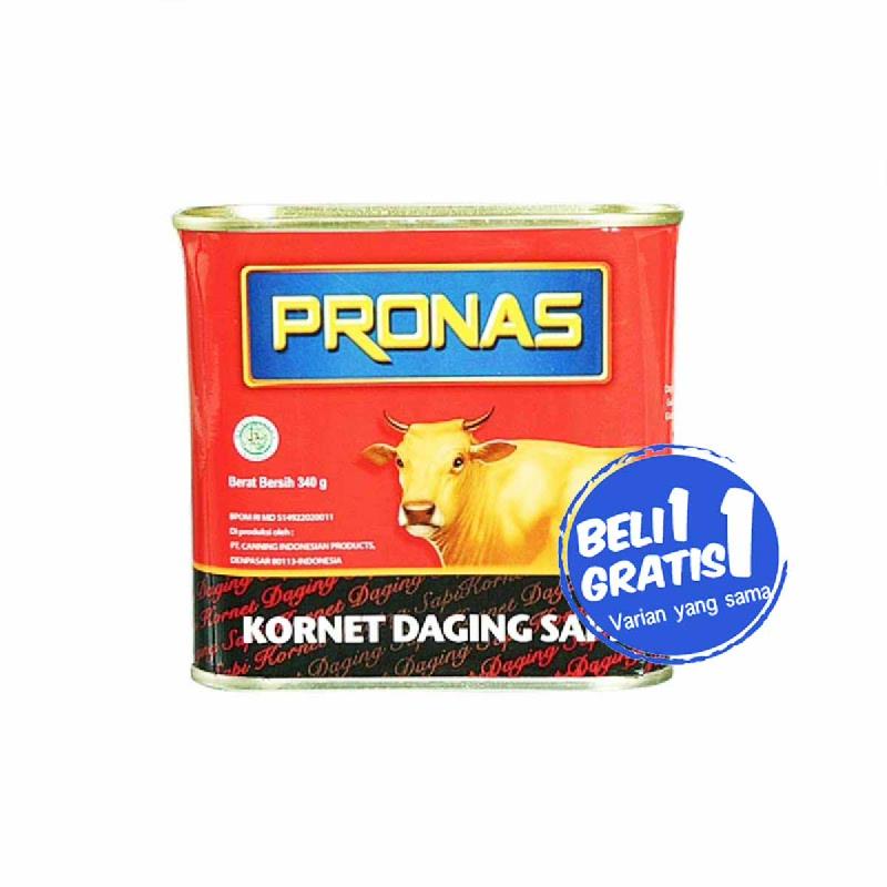 Pronas Corned Beef 340 Gr (Buy 1 Get 1)