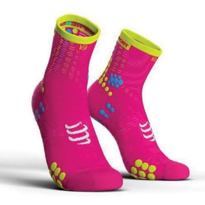 COMPRESSPORT Run Socks V3.0 Hi Pink
