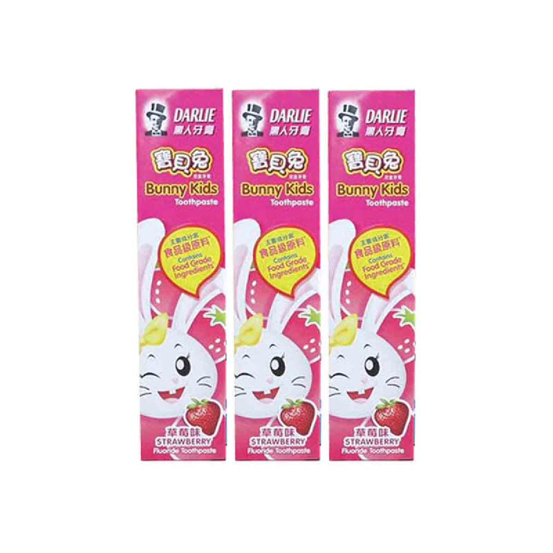 Darlie Pasta Gigi Bunny Kids Strawberry 40Gr (Buy 2 Get 1)