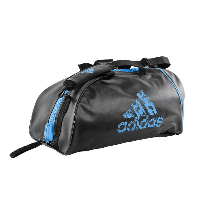 Adidas Combat Training 2 In 1 Black Solar Blue