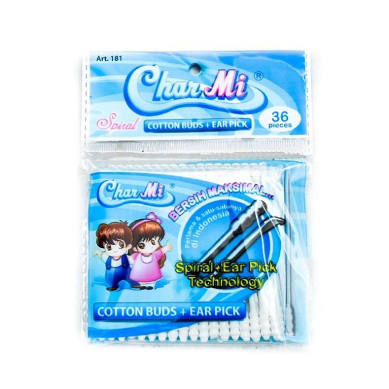 Charmi Plastic Stic Ear Pick 36 S [Art. 181]