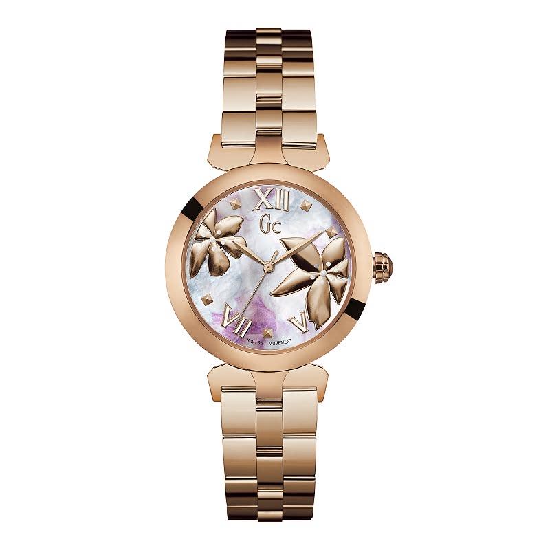 Gc Women Watch LadyBelle Y22003L3 Rose Gold