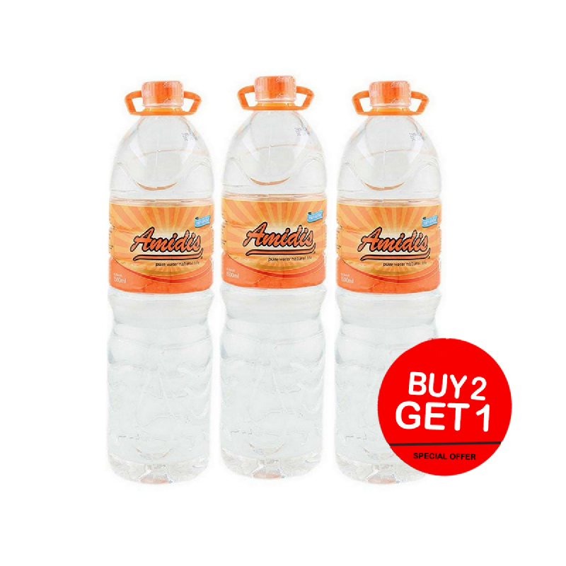 Amidis Air Mineral 1500 Ml (Buy 2 Get 1)