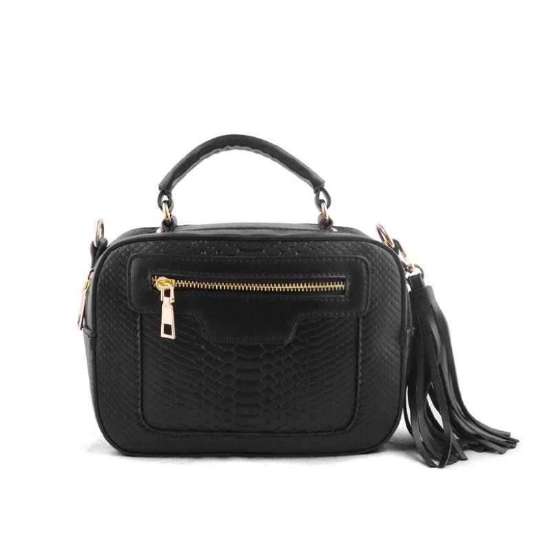 AliveLoveArts Isabel Hand-Sling Bags Black