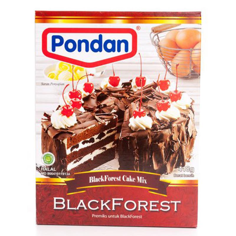 Pondan Cake Mix Black Forest 400G