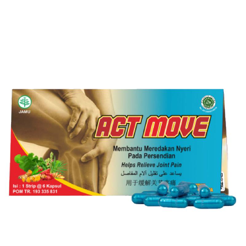 Act Move (1 Amplop -6 Kapsul) x 2