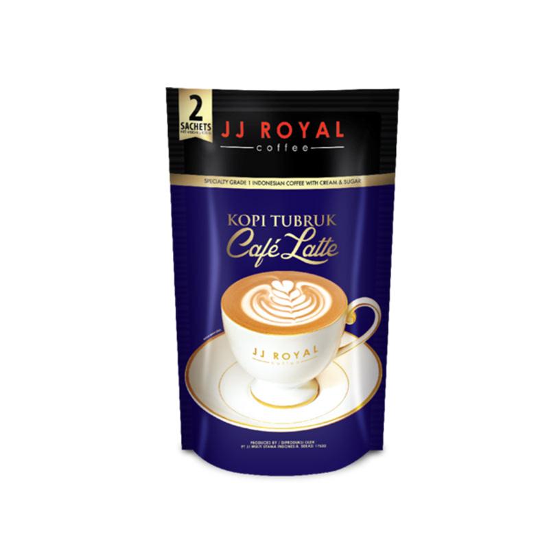 Jj Royal Kopi Tubruk Cafelatte 2 Sachet