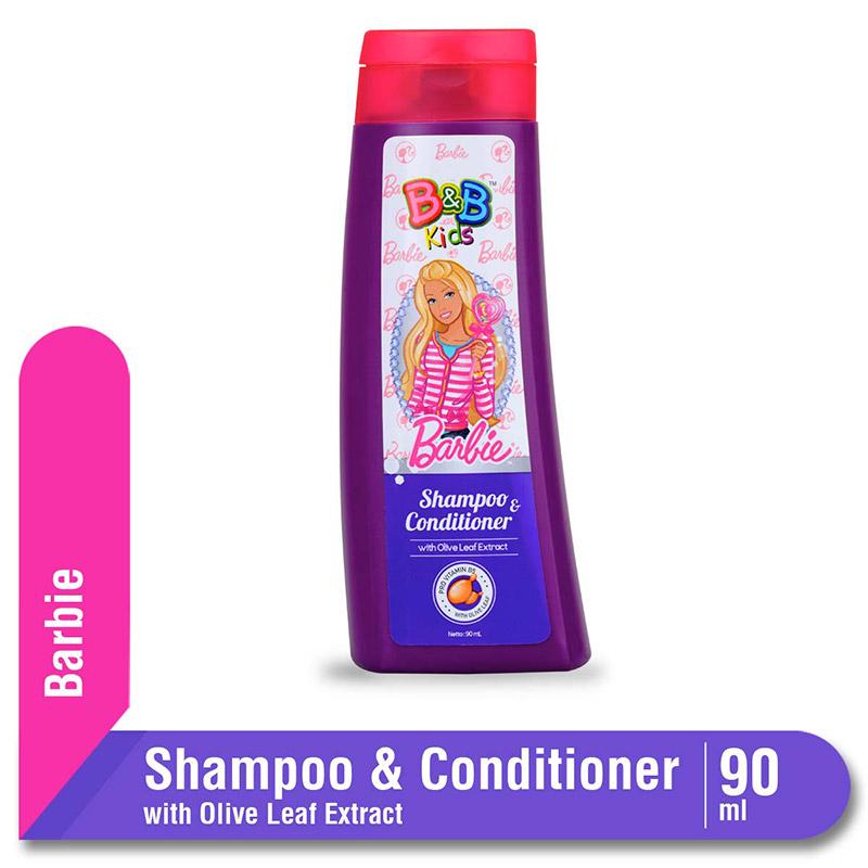 B&B Kids Barbie Shampoo Olive Leaf 90 Ml