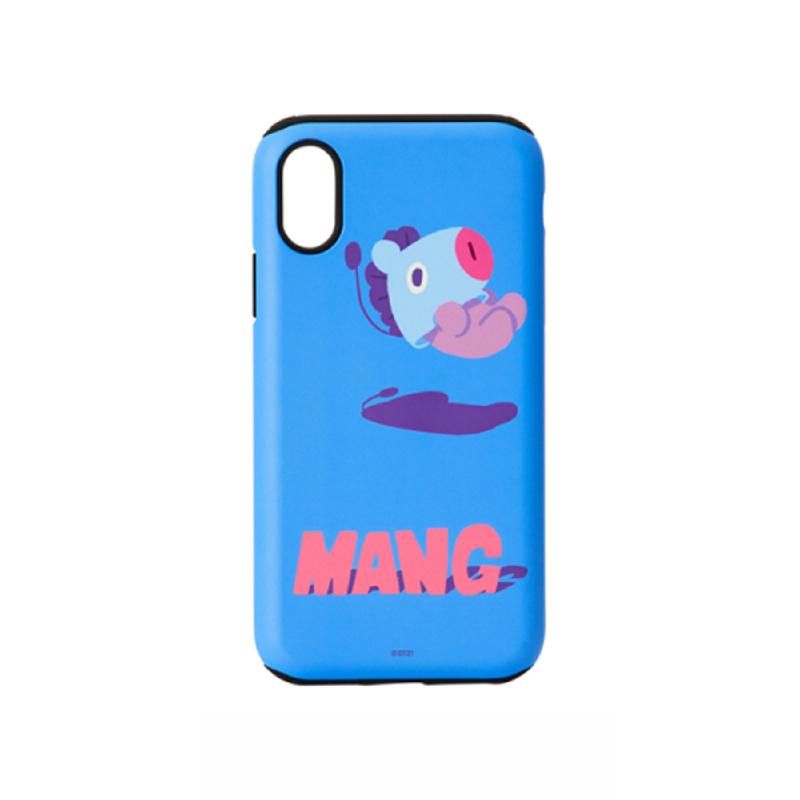 BT21 iPhone X Mang Bumper Case